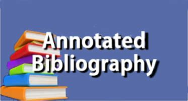 1000 word annotated bibliography